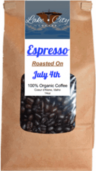 Espresso roast coffee